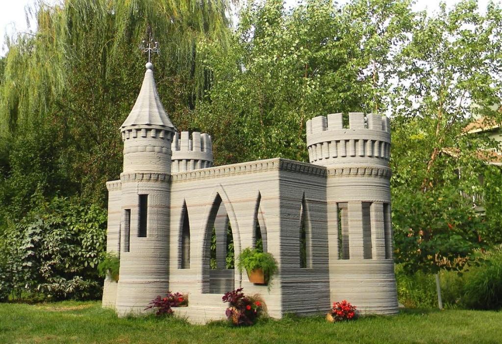 Дом в стиле замка своими руками 2
