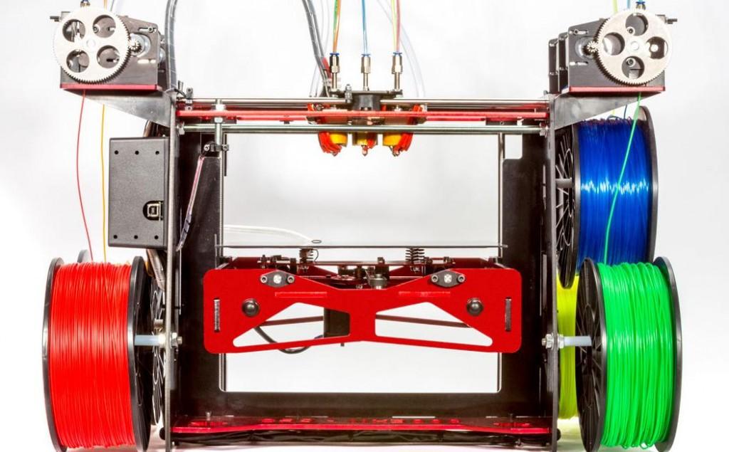 Цветная печать на 3д принтере