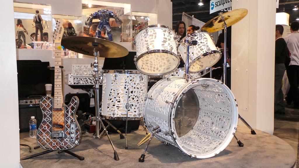 3D-печатные музыкальные инструменты