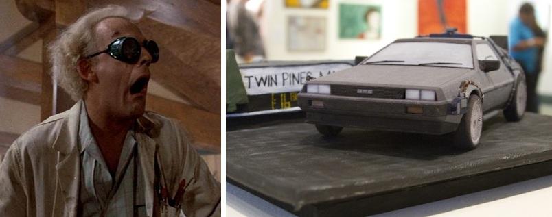 Док Браун знакомится с 3D-печатью. Примерно такой реакции и следовало ожидать