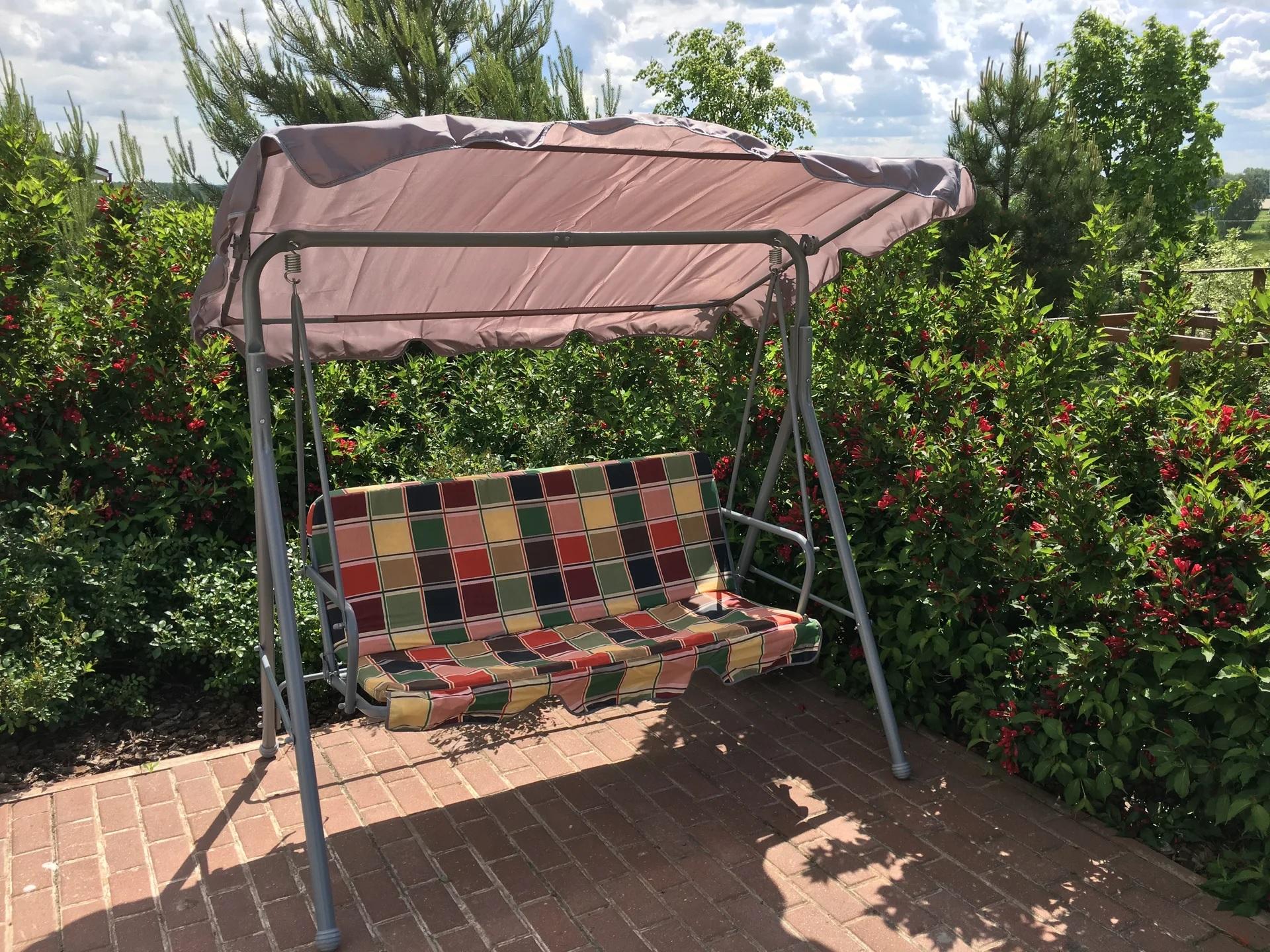 крепеж для крыши садовых качелей