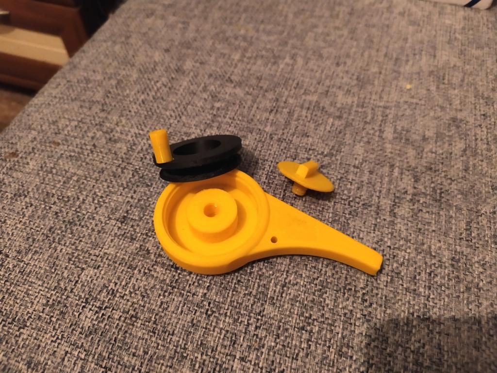 печать леской для триммера на 3д принтере