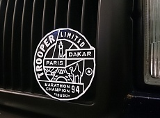 Paris Dakar Badge