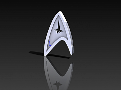 Значок STAR TREK Звездный путь