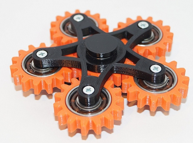 New hand spinner six gears