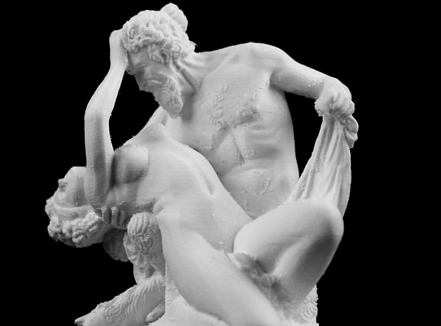 Satyre and Bacchante at The Louvre, Paris