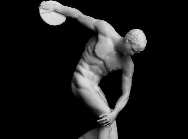 Discobolus at The British Museum, London