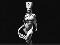 Nefertiti Warrior