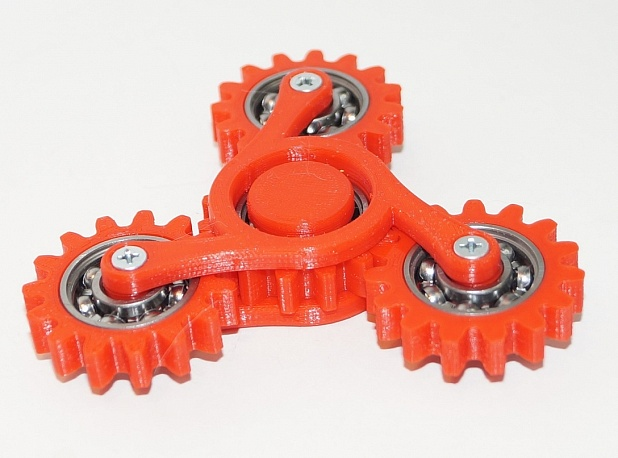 Hand spinner four gears