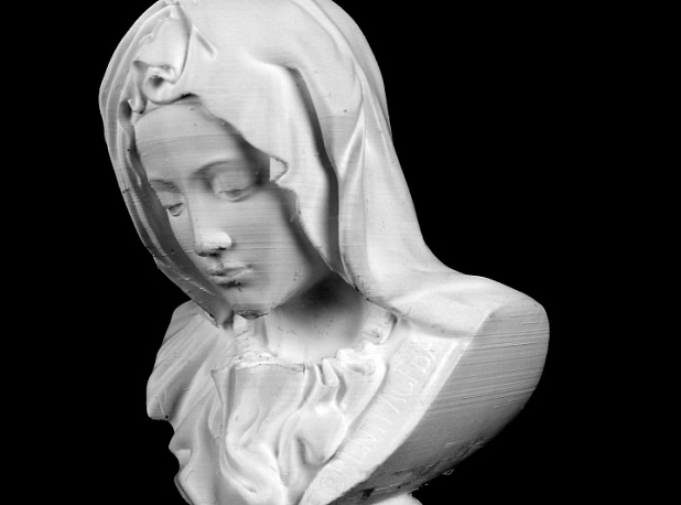 Bust of Mary from Pietà in St. Peter's Basilica, Vatican