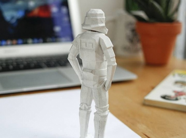 Low-Poly Stormtrooper