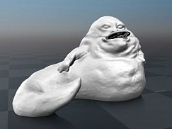 STAR WARS - JABBA money bank