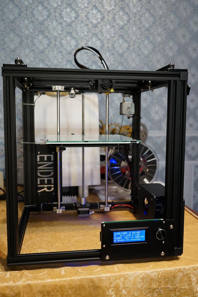 3D-принтер Ender 4 от производителя Creality 3D — отзывы владельцев ... ffe23995fc591