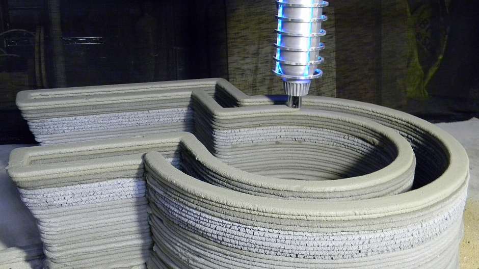 бетон для 3d принтера