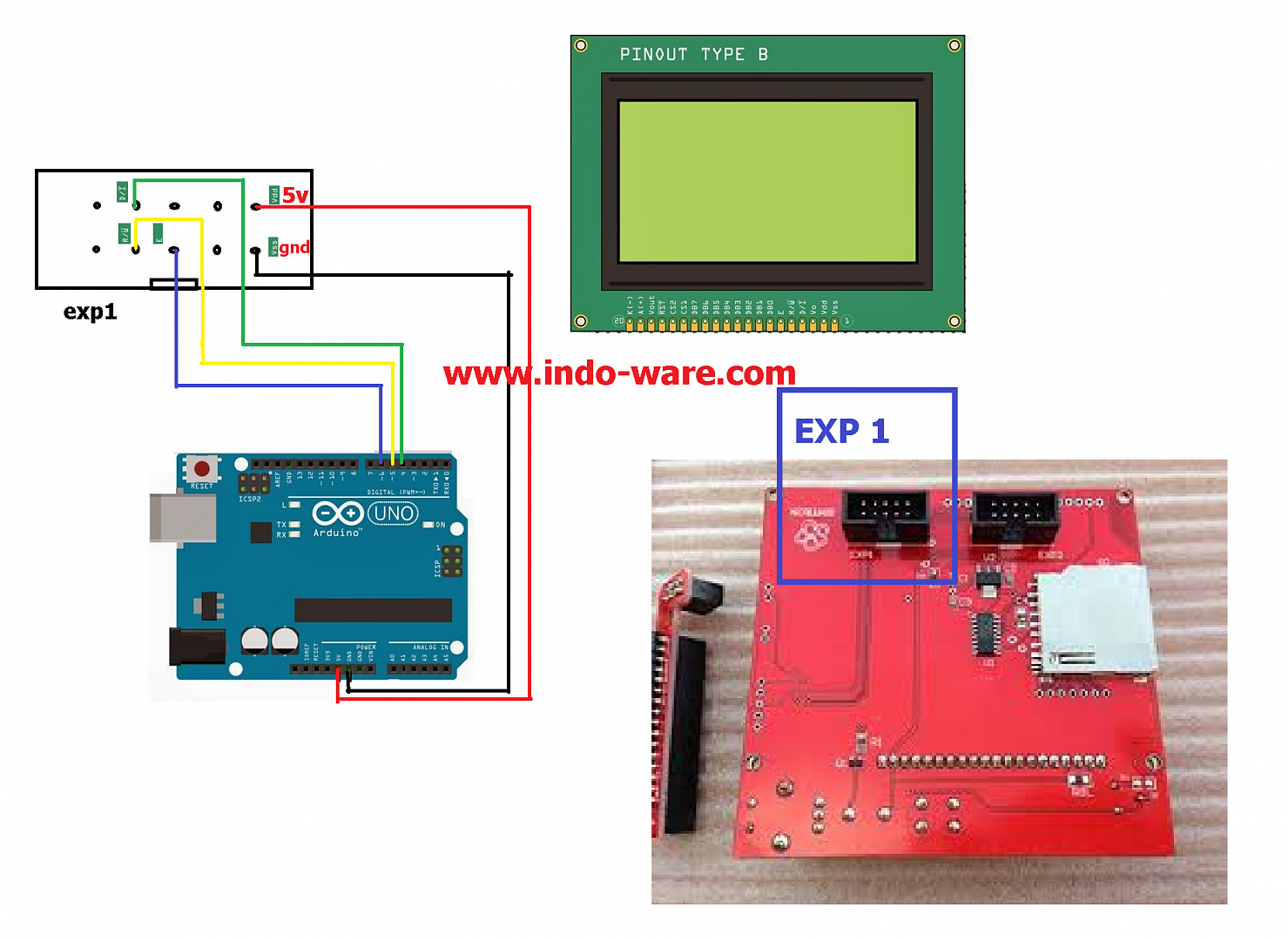 Display 1602 connection to arduino
